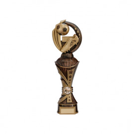 Renegade Football Heavyweight Award Antique Bronze & Gold 320mm