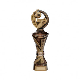 Renegade Football Heavyweight Award Antique Bronze & Gold 350mm